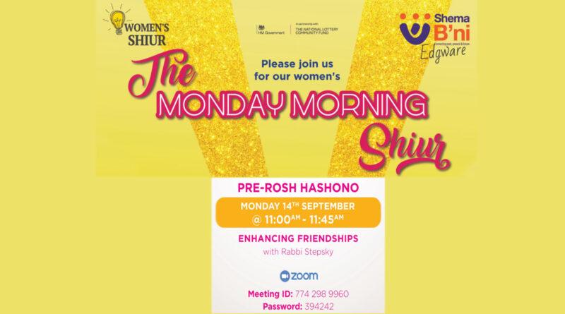 PRE-ROSH HASHONO