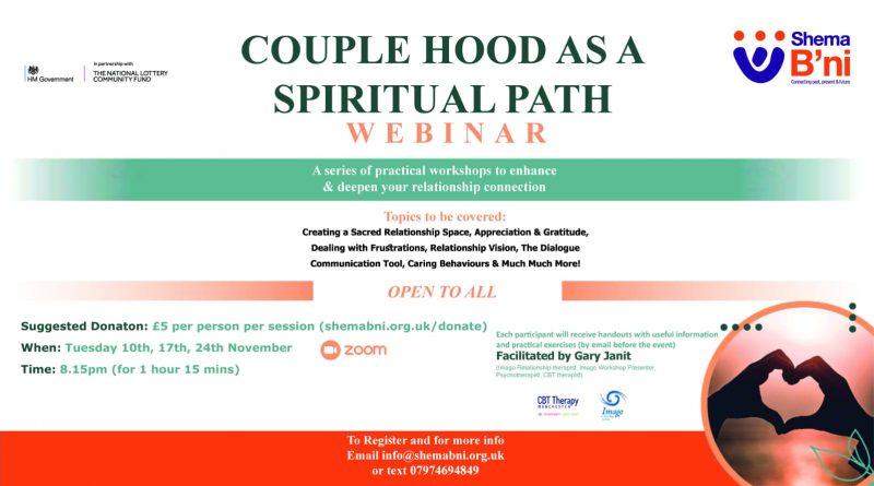Couplehood as a Spiritual Path – Webinar