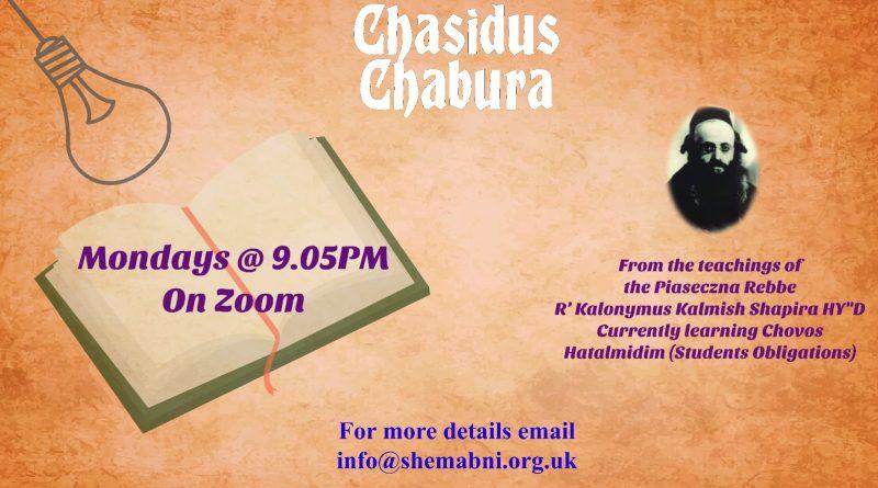 Inspirational Chasidus Chabura