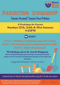 Parenting Workshop.  Inspire Yourself, Inspire Your Children