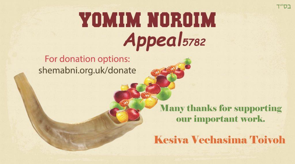 YOMIM NOROIM Appeal